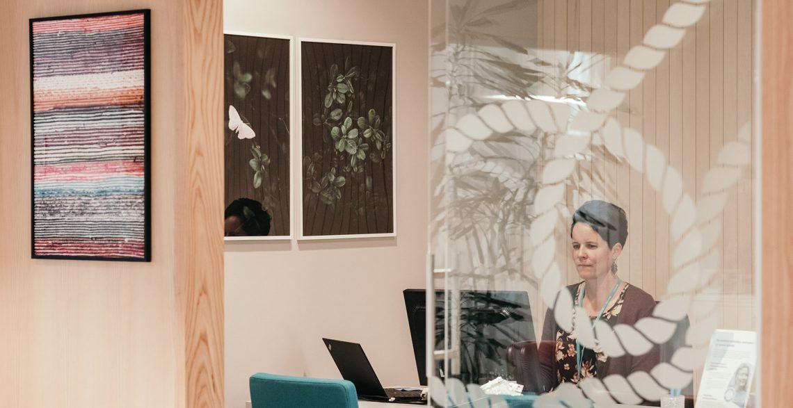 Lähitapiolan toimistoon Imageroad taulut